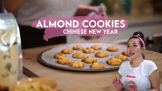 Almond Cookies for Chinese New Year