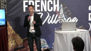 ZiBlue - Le grand pitch du French Village FOCUS #SmartHome #SmartCity #SmartVehicules #SmartMobilité