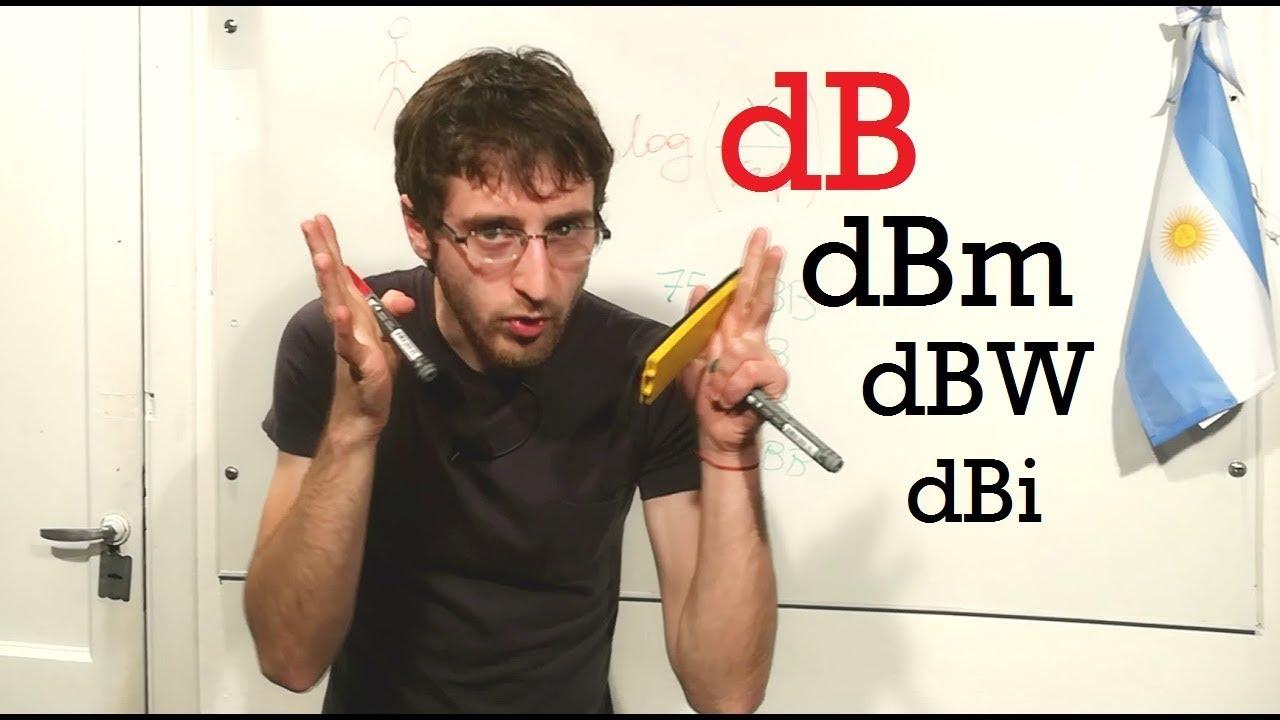 Download ¿Qué son los DECIBELES? + dBm, dBW, dBi, dB-lo que sea   El Traductor