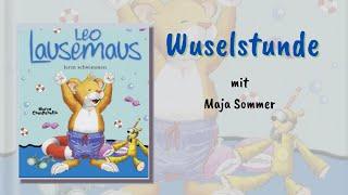 Leo Lausemaus lernt schwimmen - Wuselstunde mit Maja
