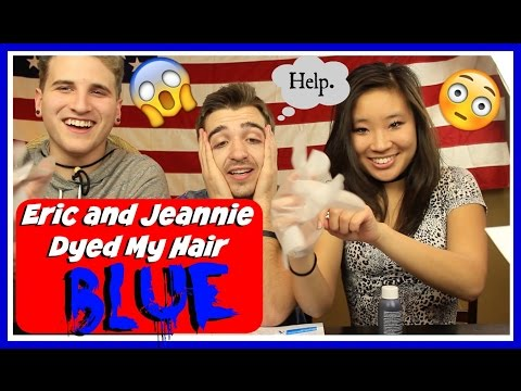 ERIC AND JEANNIE DYED MY HAIR BLUE?!? -- Boston Tom