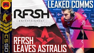 CSGO | Astralis to Leave RFRSH, BLAST Leak YNk Comms? MiBR Choose Zews Over Coldzera