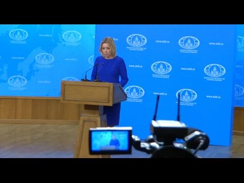 Россия поддерживает инициативы по примирению Азербайджана и Армении - Мария Захарова