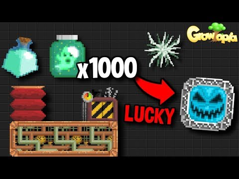 WHAT DO YOU GET FROM 1000 GHOST-IN-JARS?? [LUCKY] | Growtopia