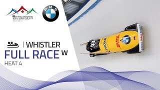 Whistler | BMW IBSF World Championships 2019 - Women's Bobsleigh Heat 4 | IBSF Official