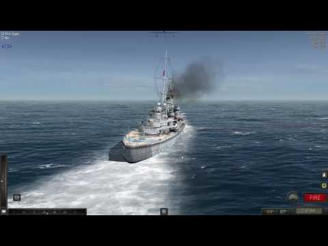 Atlantic Fleet HMS Exeter vs DKM Prinz Eugen