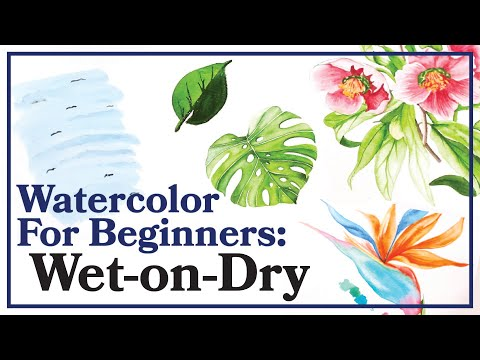 Watercolor for Beginners | How to Use Wet-on-Dry (Part 2)