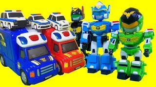 토이캅 경찰차 장난감 티피 토토 해머 경찰놀이 캐리어 소방놀이 캐리어 트럭 장난감