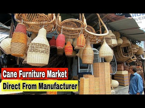 WHOLESALE FURNITURE MARKET IN MUMBAI | CANE FURNITURE MARKET