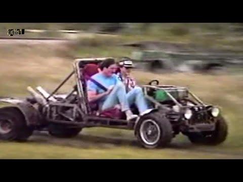 Homemade Go Kart & Gama Goat Muddy Field Romp