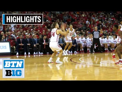 Highlights: Trice's Double-Double Leads Badgers To Win | Nebraska At Wisconsin | Jan. 21, 2020