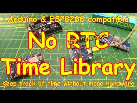 #139 No Real Time Clock (RTC) Required (Wemos ESP8266 Mini)