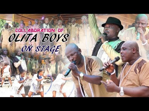 Collaboration Of Agbakpan Olita Boys On Stage ► Benin Music Live On Stage.