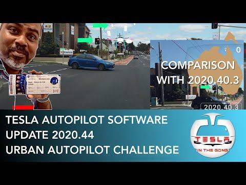 Tesla Autopilot Software Update 2020.44 | Speed Offset | Urban Autopilot Challenge