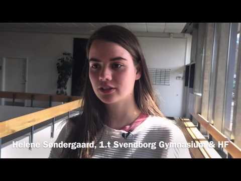 Svendborg Gymnasium får besøg af Kristian Jensen