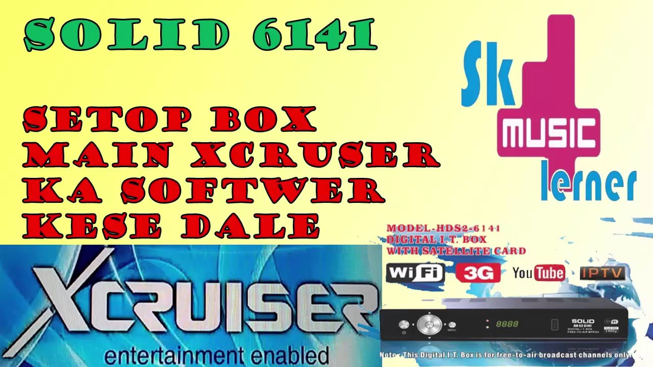 Solid 6141 Upgrade In Xcruser 500 Hd Firmware 100 Tested