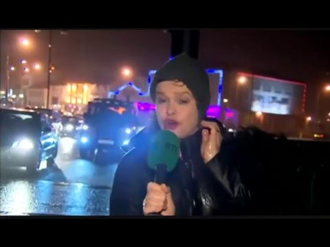 Irish Weather Woman's Dramatic Storm Warning