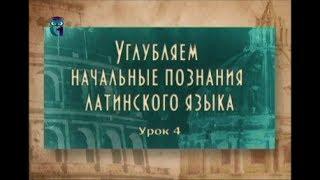 Латинский язык. Урок 2.4. Типы однокоренных слов в латыни