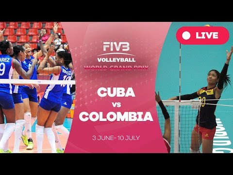 Cuba v Colombia - Group 3: 2016 FIVB Volleyball World Grand Prix