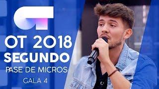 SEGUNDO PASE DE MICROS | Gala 4 | OT 2018