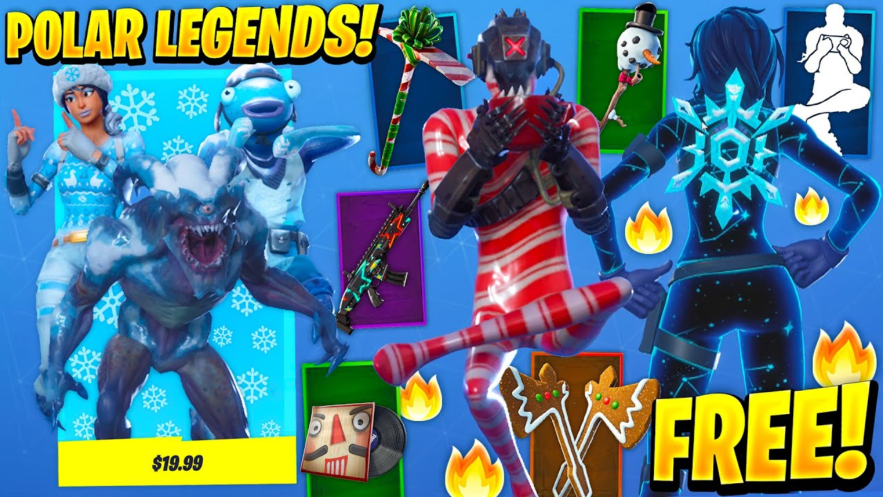 Fortnite Presents All The Fortnite Christmas Presents Rewards In Winterfest Pc Gamer