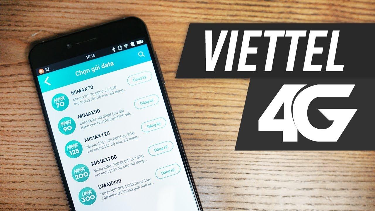 Bạn có dùng gói data nào của Viettel không