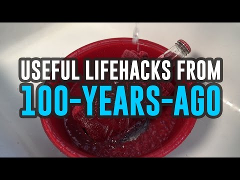 Terrific Life Hacks From Our Great-Great-Grannies!
