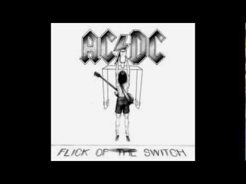 AC/DC 03 FLick of the Switch (lyrics)