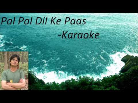 Pal Pal Dil ke Paas-Karaoke (HIGH QUALITY)