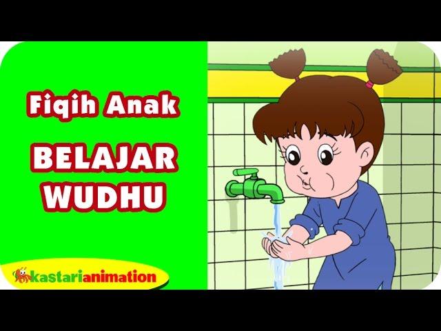 Belajar Wudhu Belajar Fiqih Anak Bersama Diva Kastari Animation Official Youtube
