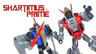 Transformers Slug and Swoop Power of the Primes Hasbro Action Figure Toy Review