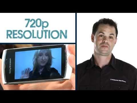Sony Ericsson Vivaz Pro Demo from The Carphone Warehouse