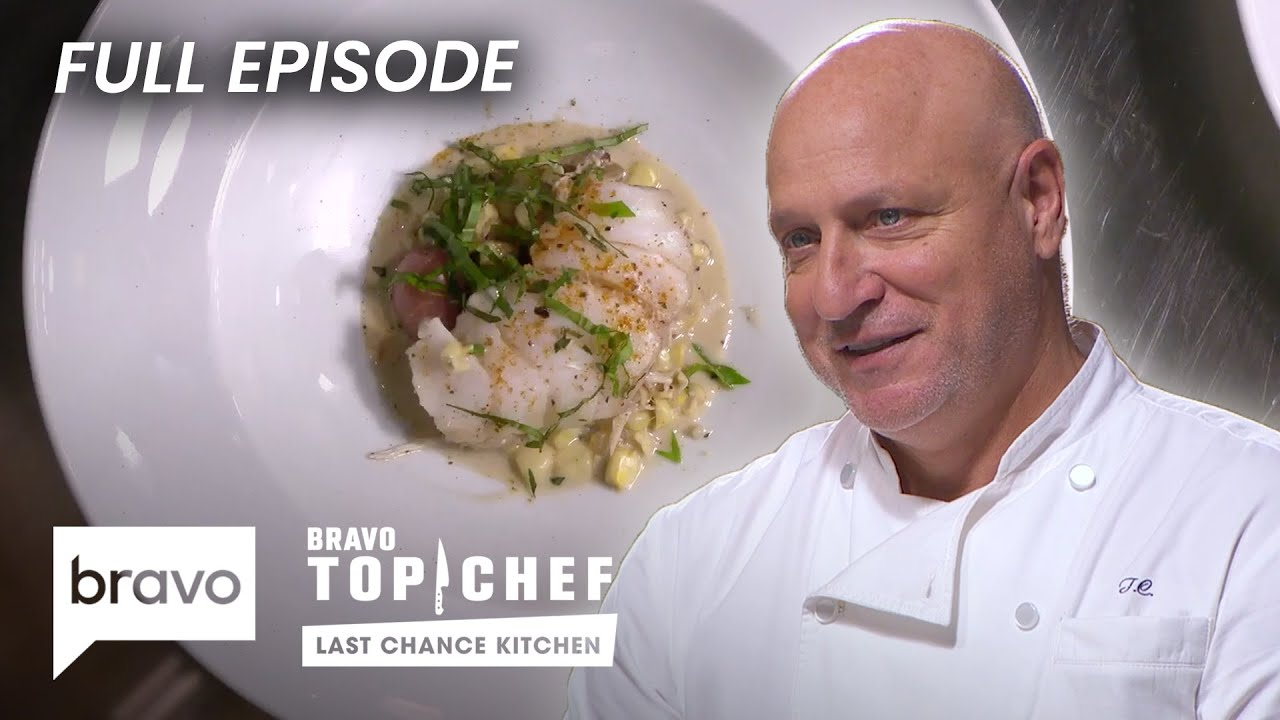 Judges Blown Away By Eliminated Contestant S Dish Top Chef Last Chance Kitchen S18 E03 Youtube