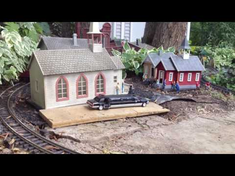 Garden Railway Shay Steam Locomotive & Traction Tram/Trolley! Awesome!