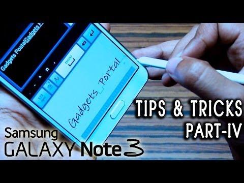 Samsung Galaxy Note 3 III TIPS & TRICKS, hidden features & gestures [PART 4]