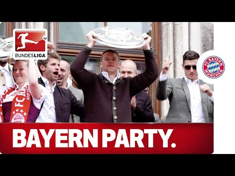 German Champions Again - Bayern München's Party Marathon