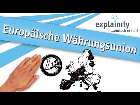 Europäische Währungsunion einfach