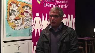 forum mondial de la démocratie: LES FEMMES ET LE WEB partie 2