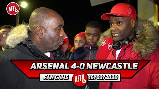 Arsenal 4-0 Newcastle | Ceballos Was Pulling The Strings Today! (Yardman)