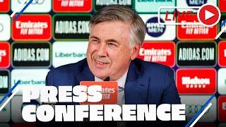 Carlo ANCELOTTI | ¡Primera rueda de prensa tras su vuelta al Real Madrid!