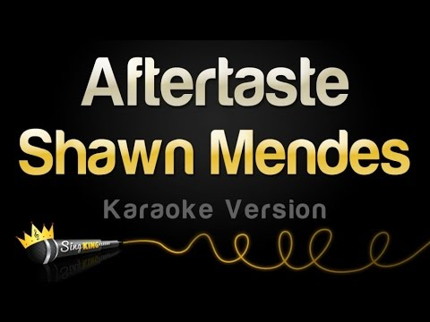 Shawn Mendes - Aftertaste (Karaoke Version)