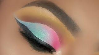 #makeup The Forest Meets Cotton Candy|Facebook Live Makeup Tutorial| la girl pro concealer dark skin