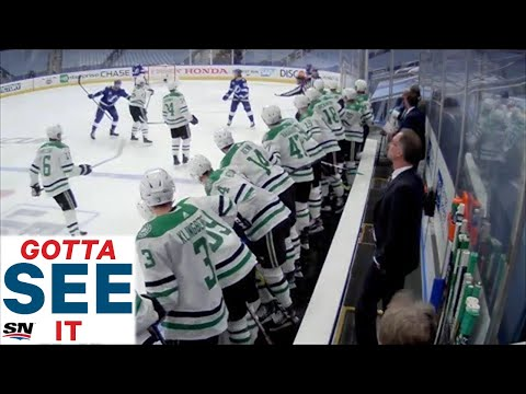 Maroon shoots into Stars bench