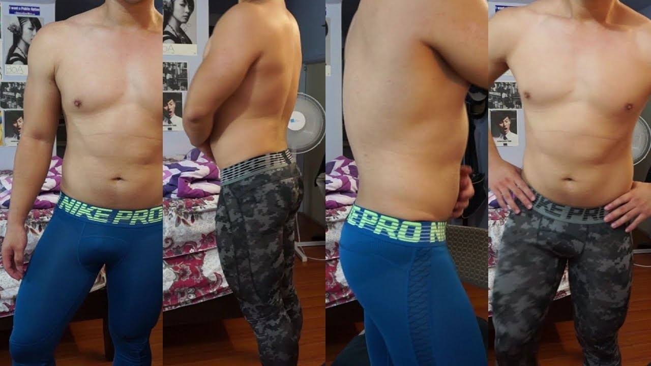 Farmacología Peligro Ganar  Nike Pro Compression Training Tights Try-On Review - YouTube