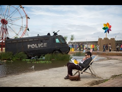 Banksy's New Pop-Up Exhibition - Dismaland