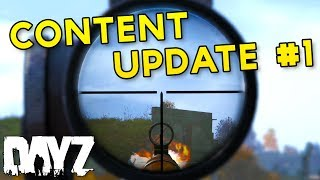 Mosin, Scopes & Jumping - 0.63 Content Update #1 - DayZ Standalone