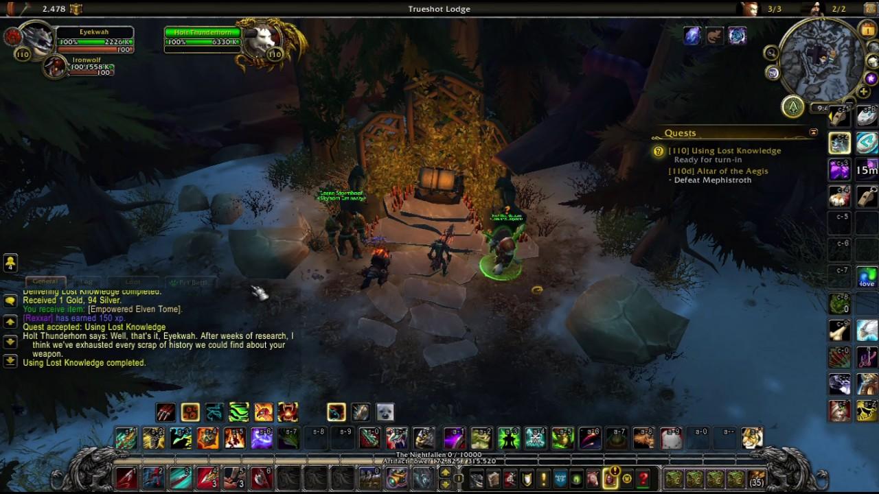 how to change artifact hunter