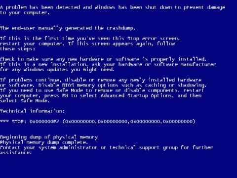 windows xp manual bsod youtube rh youtube com windows xp manual activation windows xp manually install updates