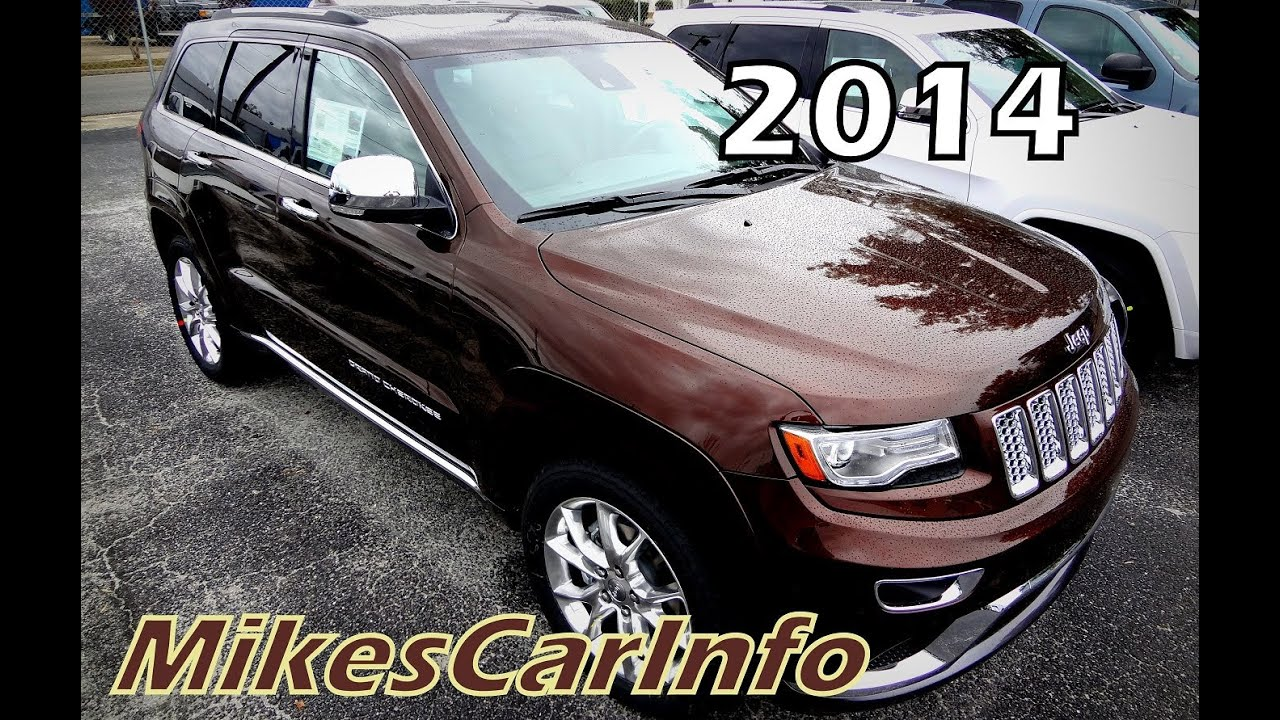 2014 Jeep Grand Cherokee Summit Deep Auburn Pearlcoat