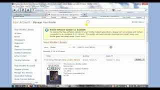 How to Borrow Books from the Library with the Amazon Kindle